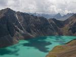 Каракольское озеро, Кыргызстан