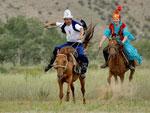 Конные игры киргизов
